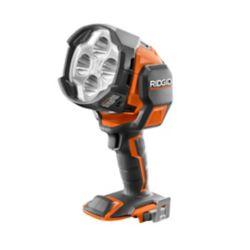 RIDGID Lampe projecteur à DEL hybride, 18 V