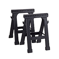 23-inch Folding Sawhorse (2-Pack)