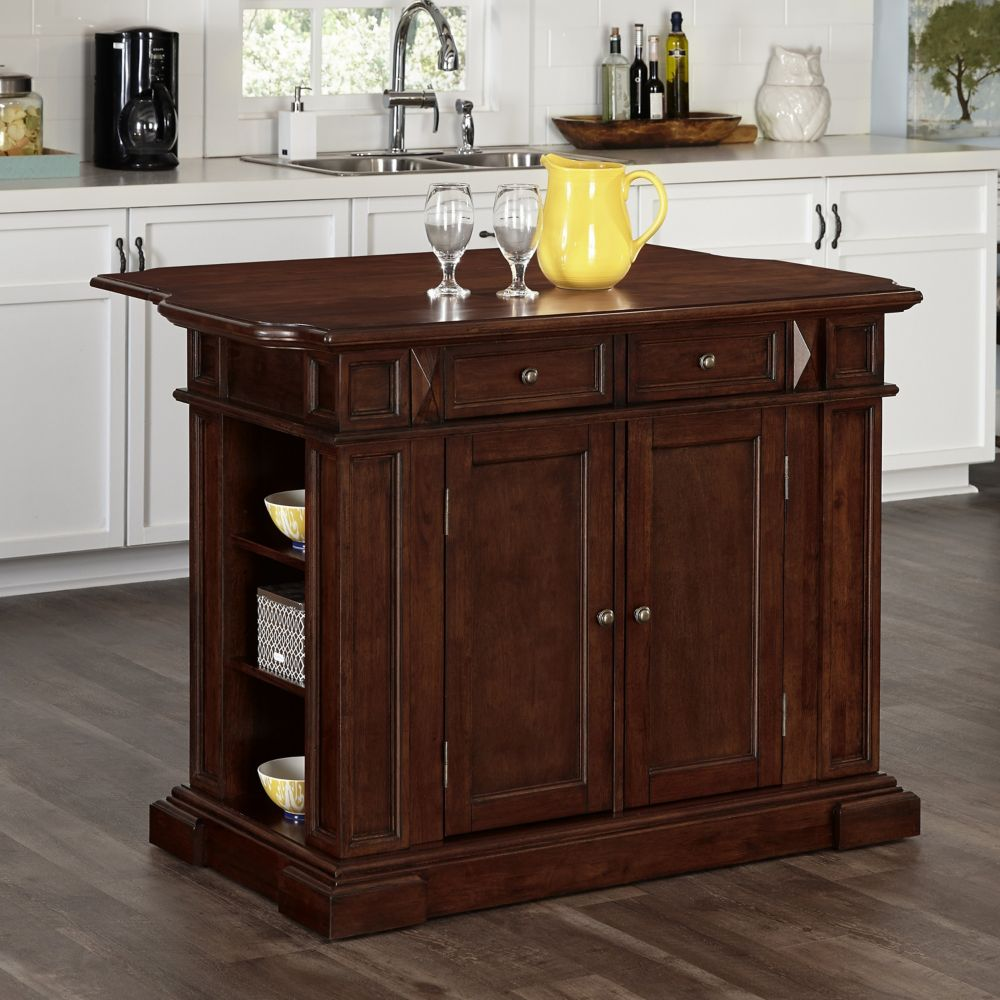 Americana Cherry Kitchen Island