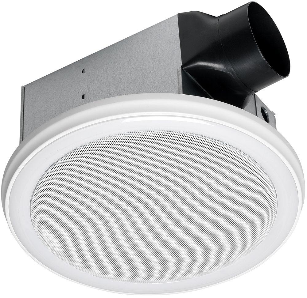 Ventilateur De Salle De Bain Avec Haut Parleur Bluetooth Et éclairage à DEL  Photo Of Product