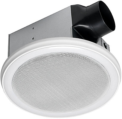 Home Netwerks Bath Fan Speaker In One With Led Light The Depot Canada