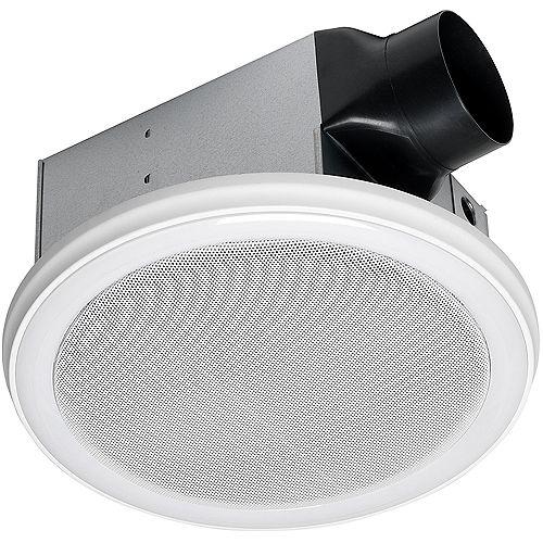 Home NetWerks Bath Fan & Speaker in One with LED Light