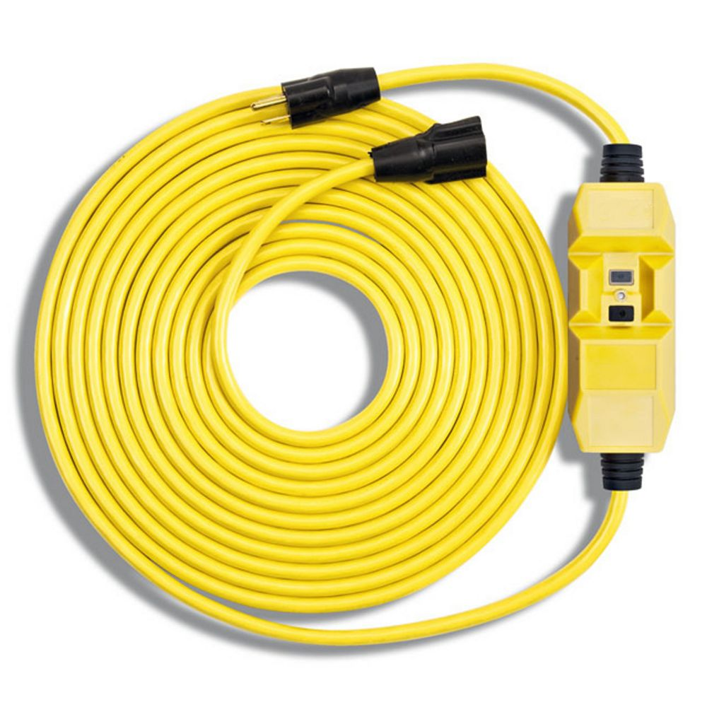 Southwire 25 ft. In Line GFCI Cord 14/3 SJTW-A 120V/15A
