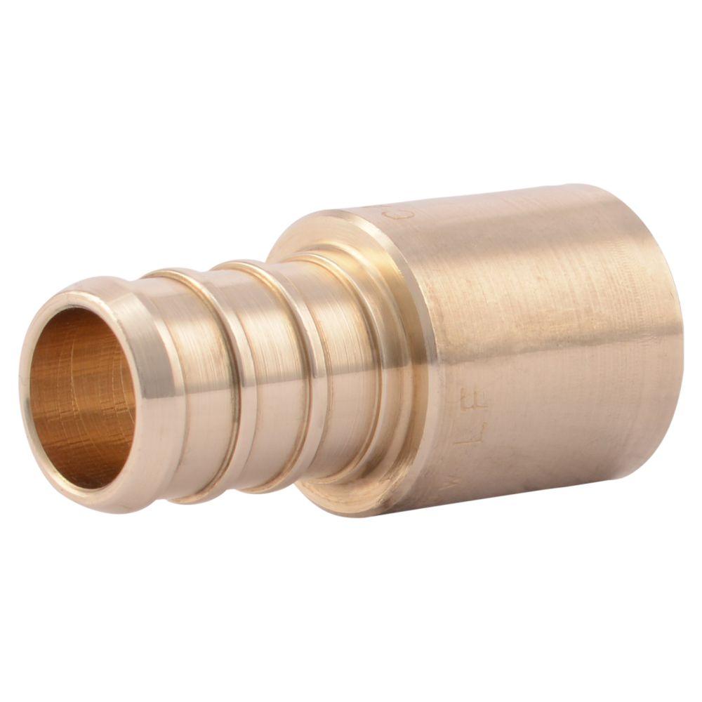 Aqua dynamic fitting copper male adapter inch