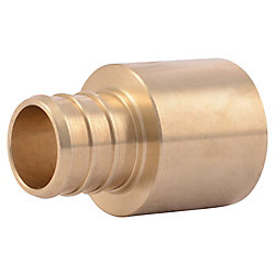 SharkBite 3/4 Inch PEX x 3/4 Inch SWEAT FEMALE ADAPTER