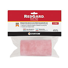 RedGard 6.84 sq. ft 5 inch x 16.5 ft Seam Tape for Uncoupling Mat Underlayment
