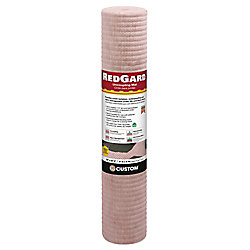 Custom Building Products RedGard 54 sq. ft 39.4 inch x 16.5 ft Uncoupling Mat Membrane for Tile and Stone