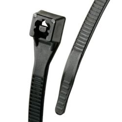 Gardner Bender 8 Inch  Xtreme Cable Tie Blk 20/bag