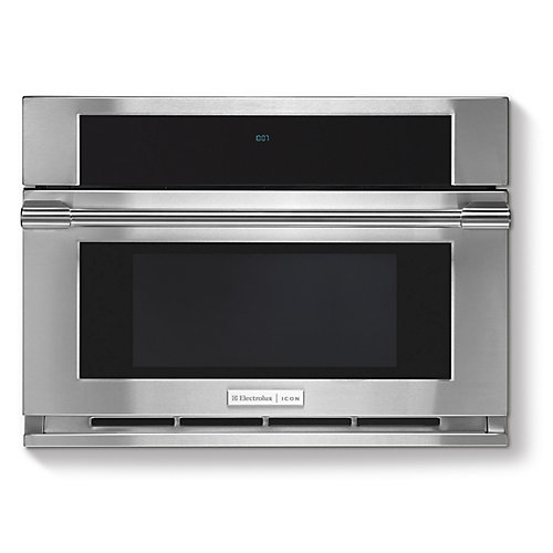 30-inch W 1.5 cu. ft. Built-In Microwave with Drop-Down Door in Stainless Steel