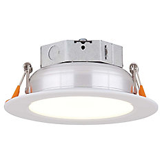 4-inch LED White Recessed Kit