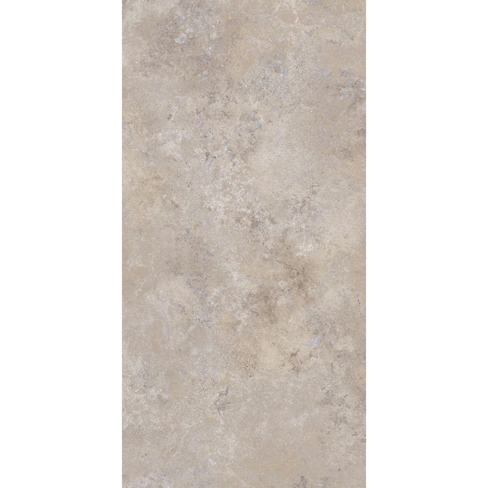 12-inch x 24-inch Luxury Vinyl Tile Flooring in Cool Grey (29 sq. ft./case)