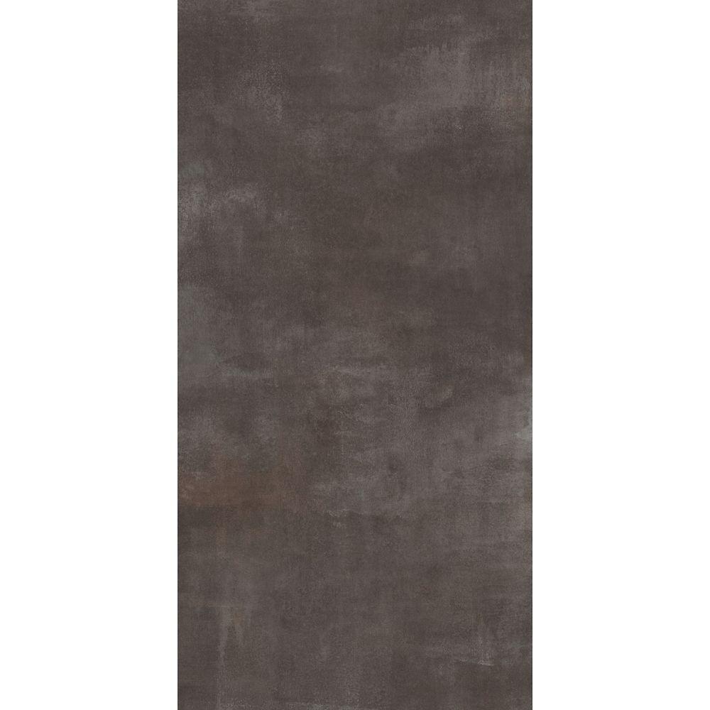 Pi. carré aux de revêtement de sol en vinyle TrafficMaster Ceramique 12 po x 24 po Béton frais (2...
