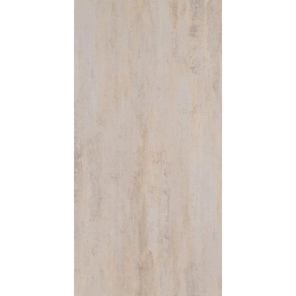 Pi. carré aux de revêtement de sol en vinyle TrafficMaster Ceramique 12 po x 24 po Gris perle (29...