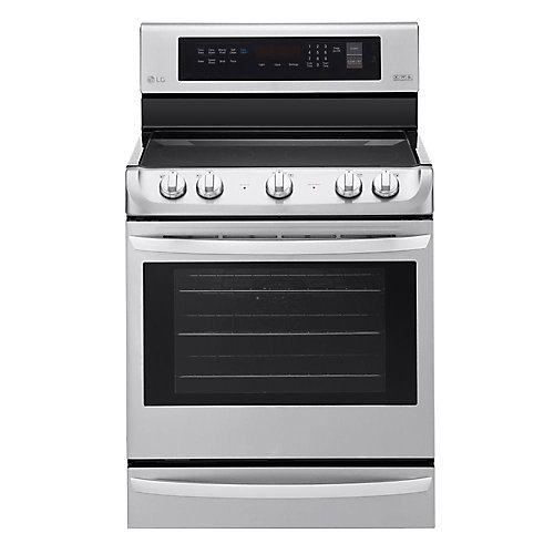 6.3 cu. ft. Electric Single Oven Range with ProBake Convection and EasyClean in Stainless Steel