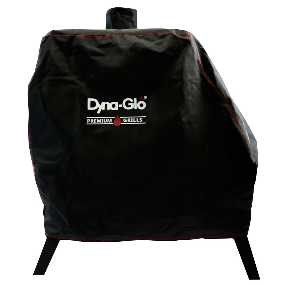 DG1890CSC Premium Vertical Offset Charcoal Smoker Cover