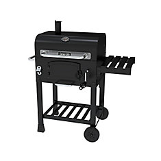 Compact Charcoal BBQ in Black