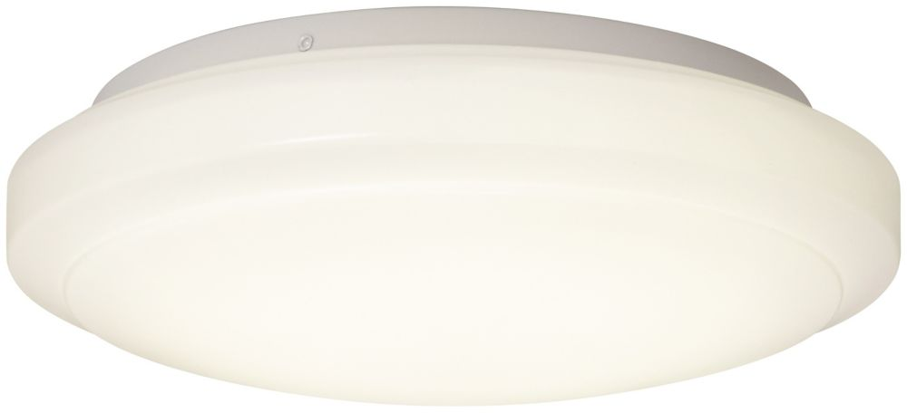 LED Smart Flushmount, White � 12Inches.