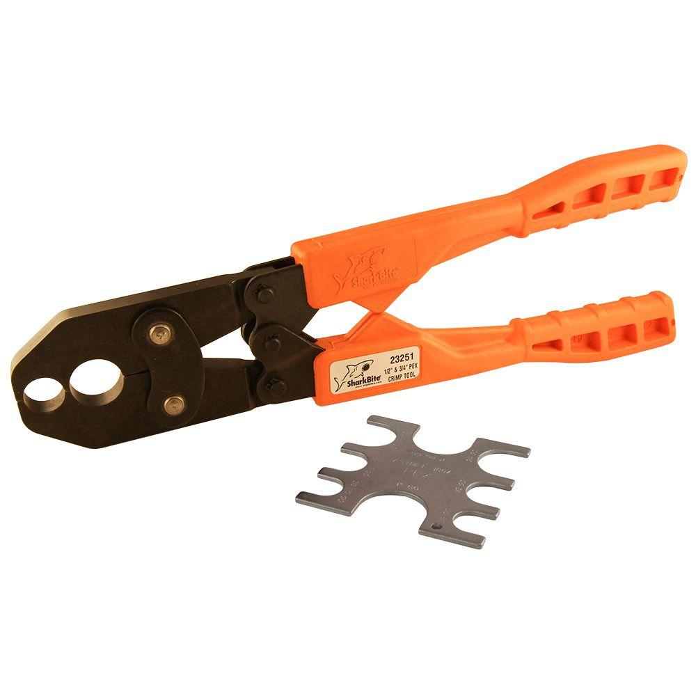 1/2 Inch & 3/4 Inch Dual Pex Crimp Tool