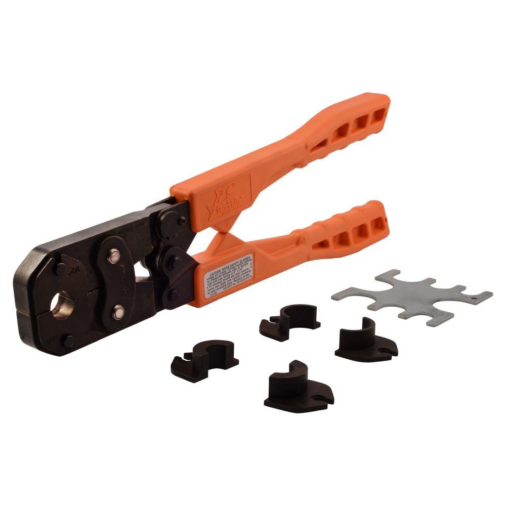 Multi-Head PEX Copper Crimp Ring Tool Kit