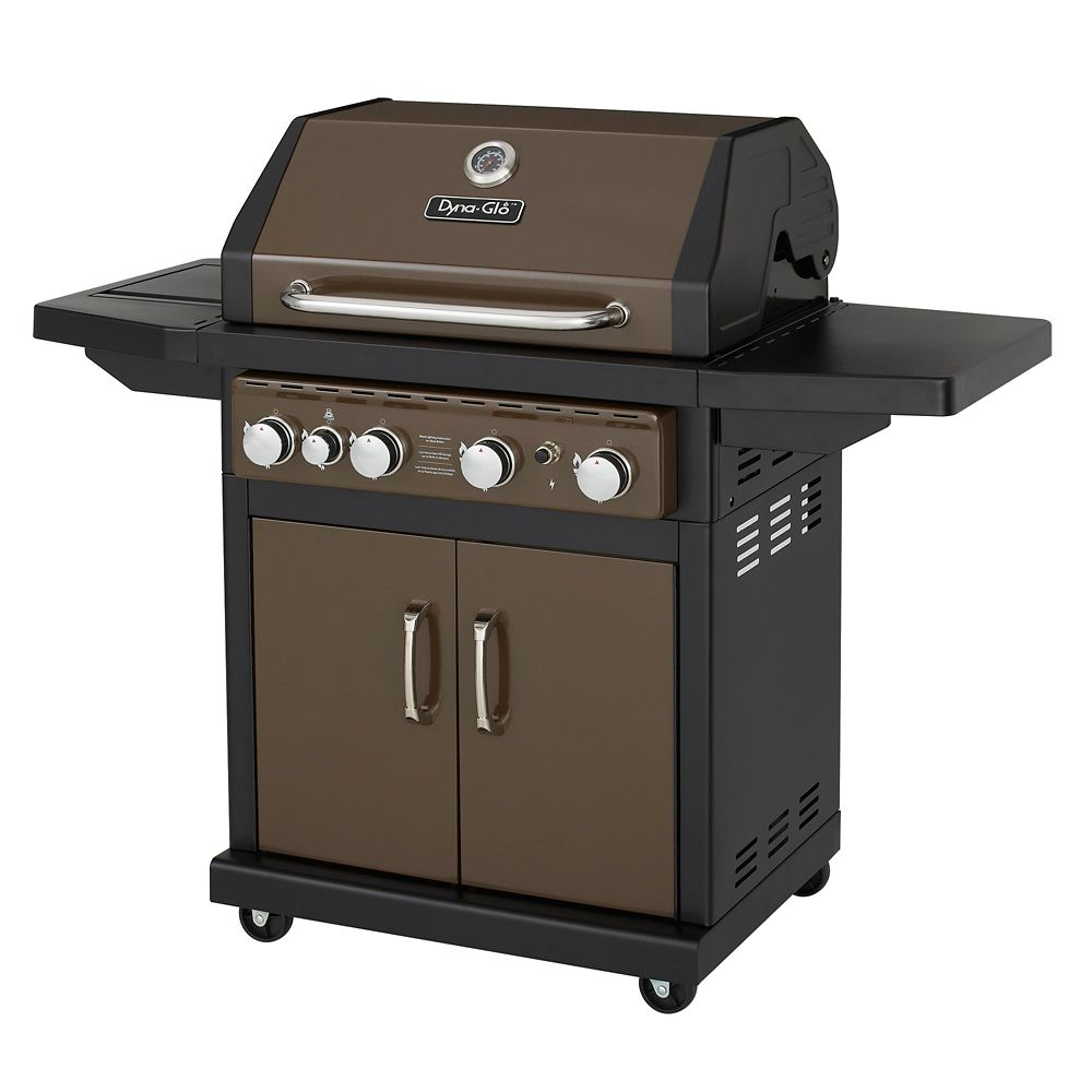 DGA480BSP 4 Burner Bronze LP Gas Grill