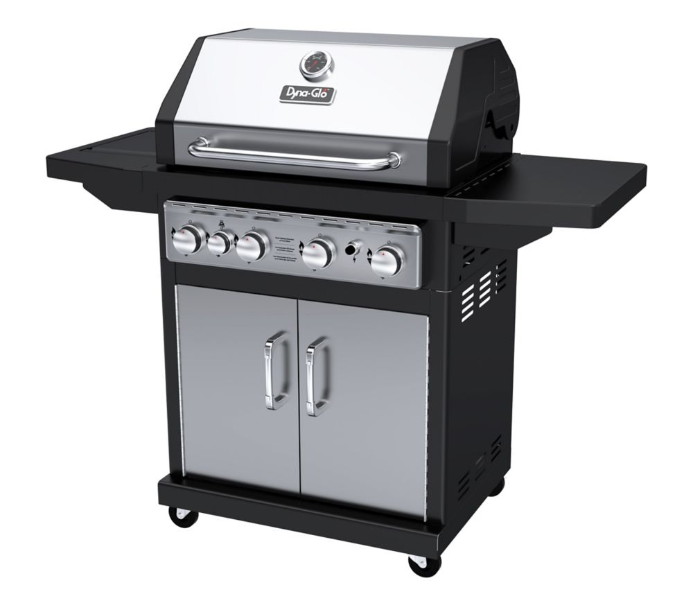 DGA480SSP-D  4 Burner Stainless LP Gas Grill