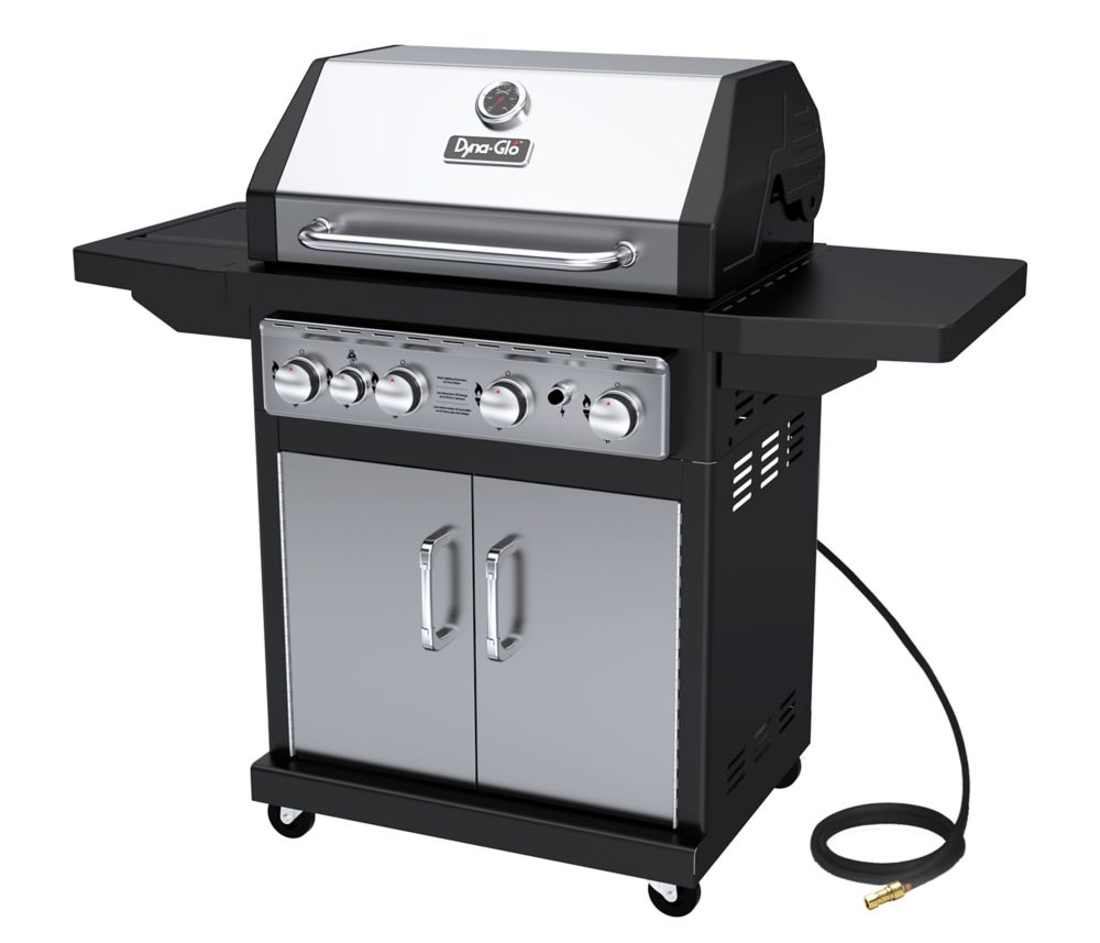 DGA480SSN-D 4 Burner Stainless Natural Gas Grill