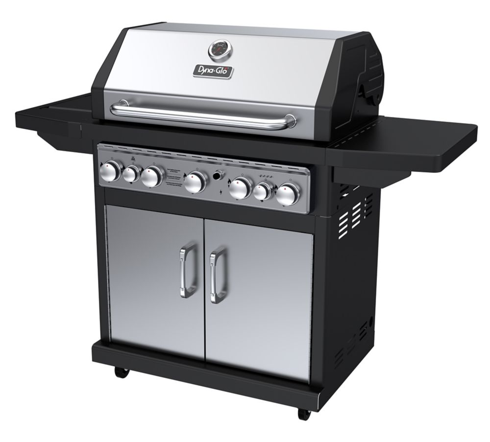 DGA550SSP-D 5 Burner Stainless LP Gas Grill