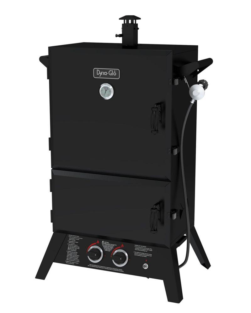 DGW1235BDP-D 36 Inch Wide Body LP Gas Smoker