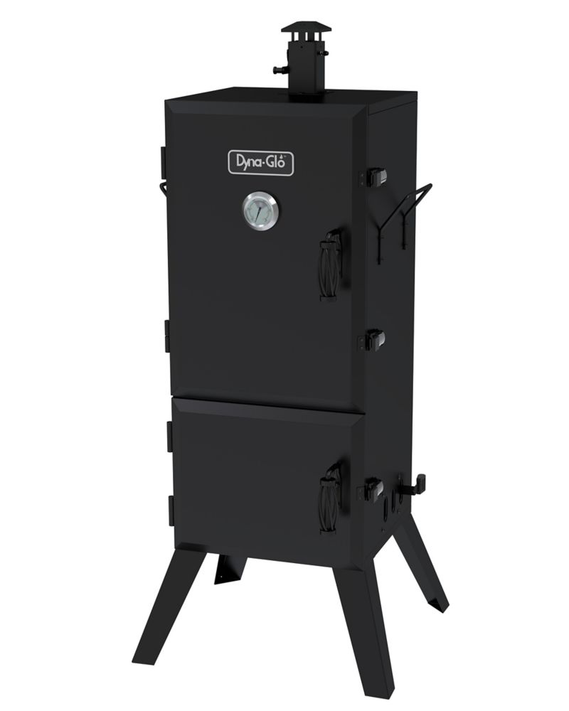 DGX780BDC-D 36 Inch Vertical Charcoal Smoker 784 Sq In Cooking Space