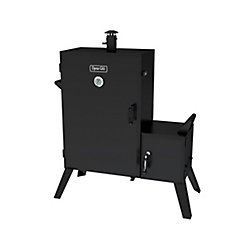 Dyna-Glo 36-inch Wide Body Vertical Offset Charcoal Smoker