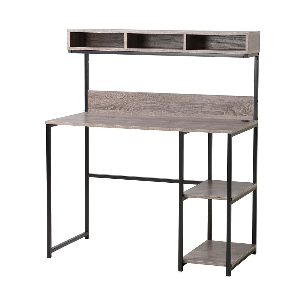 Laptop Desk With Hutch