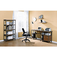 47.17-inch x 30-inch x 18-inch Standard Workstation in Grey