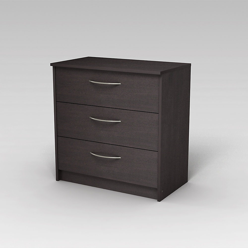 Finch Finch 3-Drawer Chest in Espresso