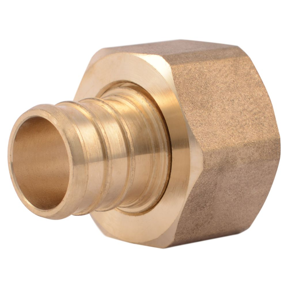 Pex brass fittings inch barb male pipe