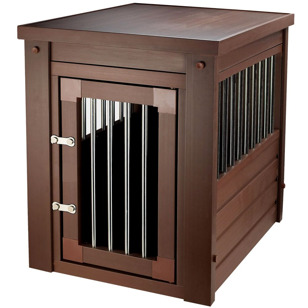 shipping today end cupboard free furhaven dog crate overstock product furniture supplies pet table