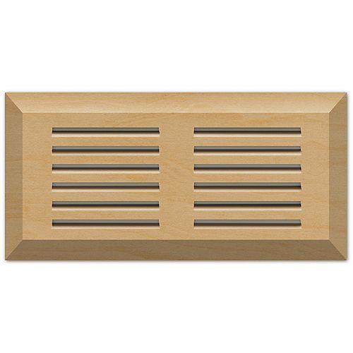 Finium Maple natural 4 x 10 top mount vent