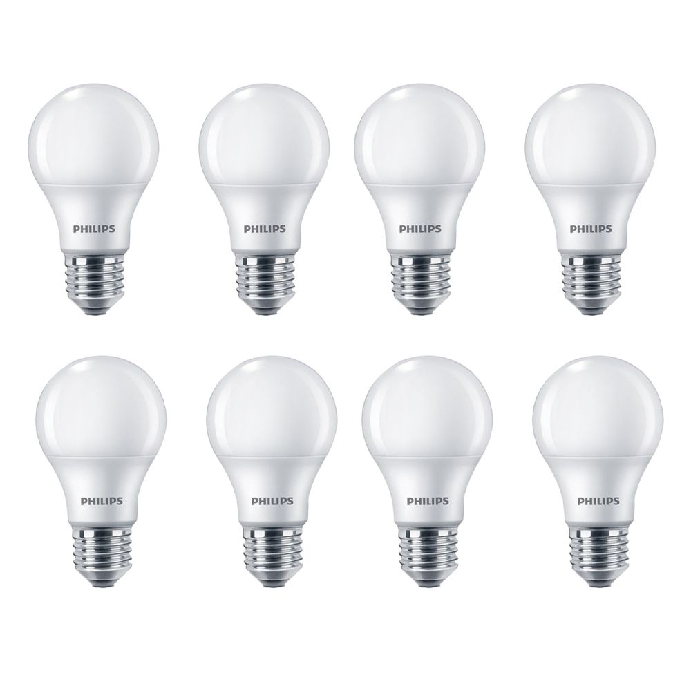 LED 100W A19 Soft White (2700K) Non Dimmable - Case Of 8 Bulbs