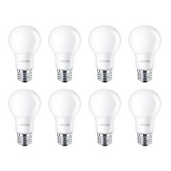 Philips 100W Equivalent Daylight 5000K A19 LED Light Bulb (8-Pack)