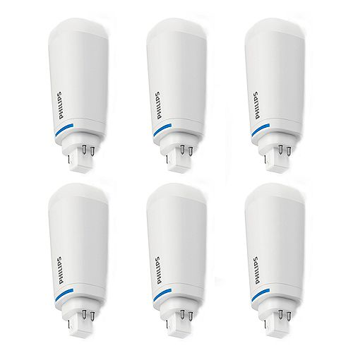 Philips 26W Cool White 4-pin PLC/T LED  Light Bulb (6-pack)