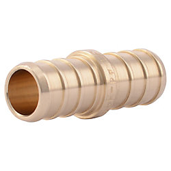 SharkBite 1/2 Inch PEX BARB COUPLING (10-Pack)