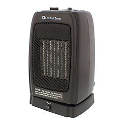 Comfort Zone Oscillating Heater/Fan Ceramic Heater