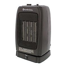 Appareil de chauffage oscillant / ventilateur en céramique