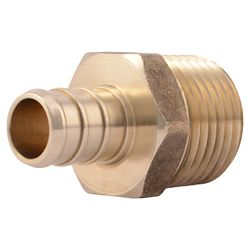 SharkBite 1/2 Inch PEX x 1/2 Inch MNPT MALE ADAPTER