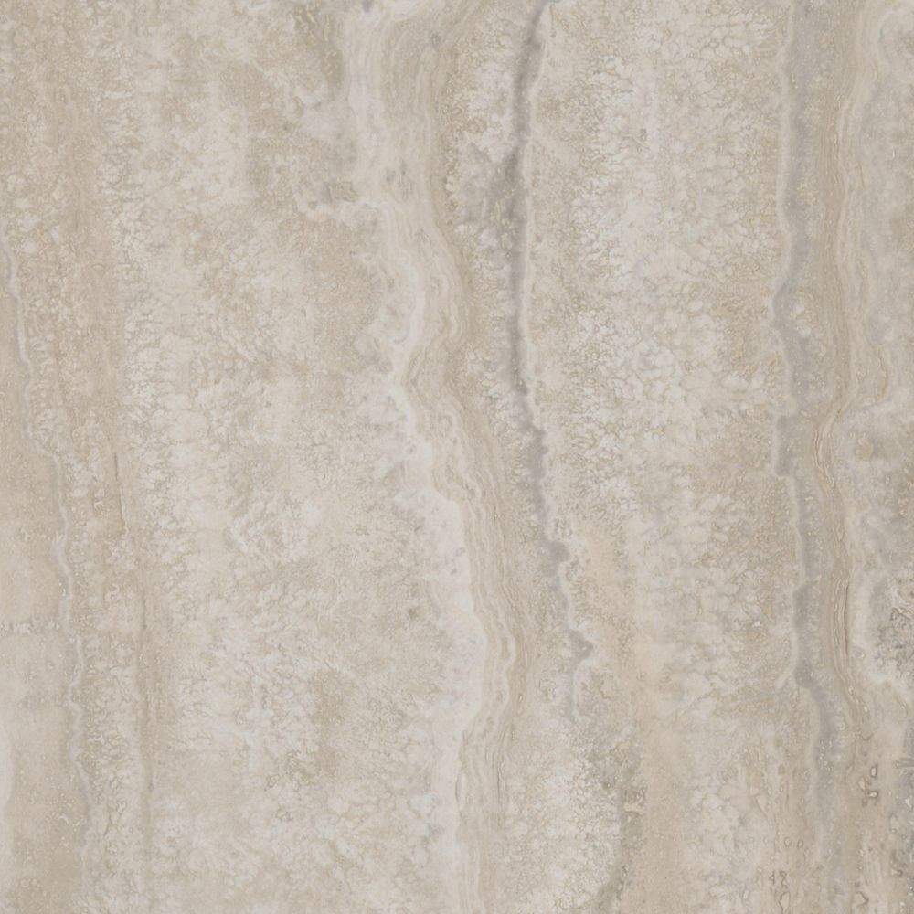 12-inch x 24-inch Luxury Vinyl Tile Flooring in Grey Travertine (24 sq. ft./case)