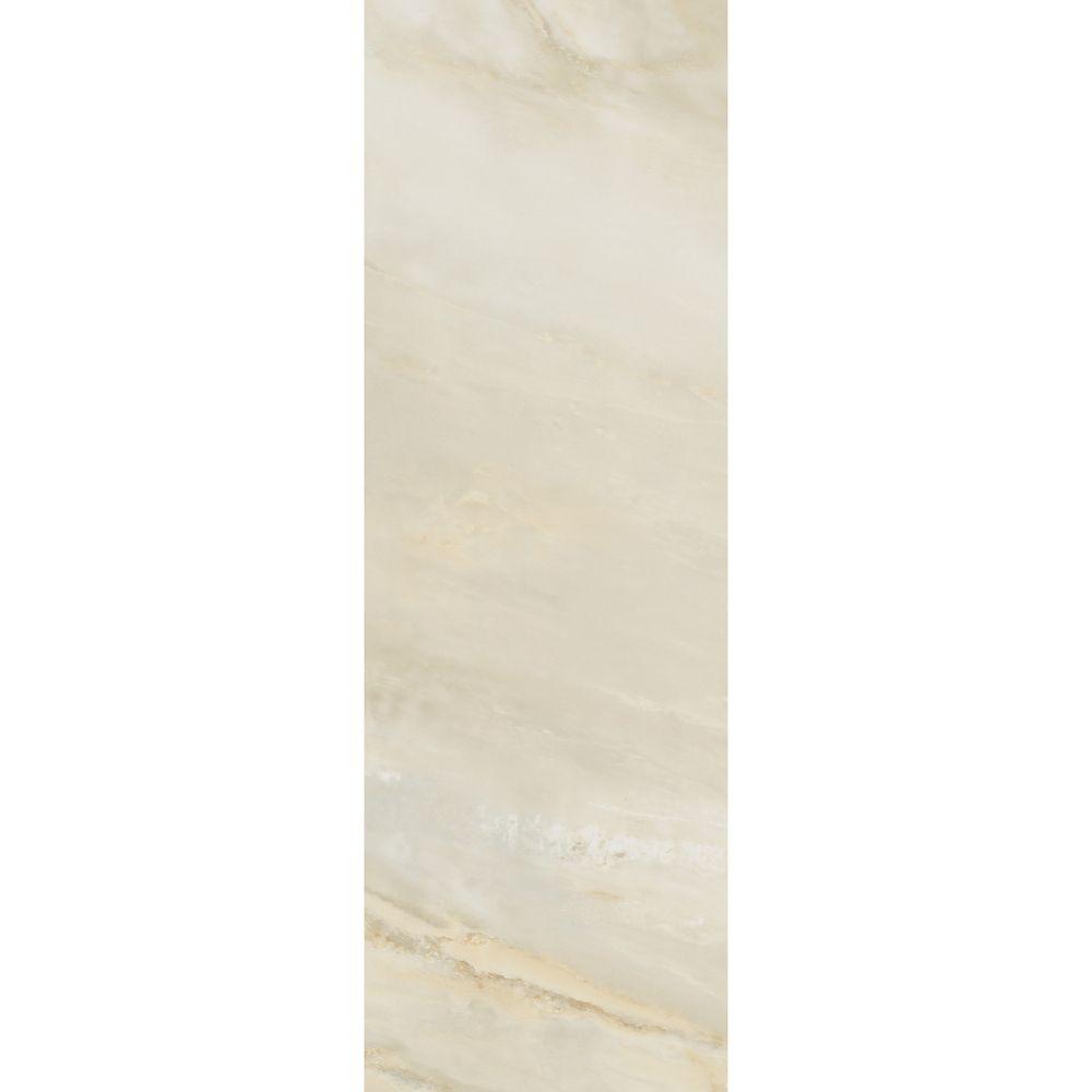 Pi. carré aux de revêtement de sol en vinyle Allure 12 po x 36 po Onyx Livourne (24Pi. carré par ...