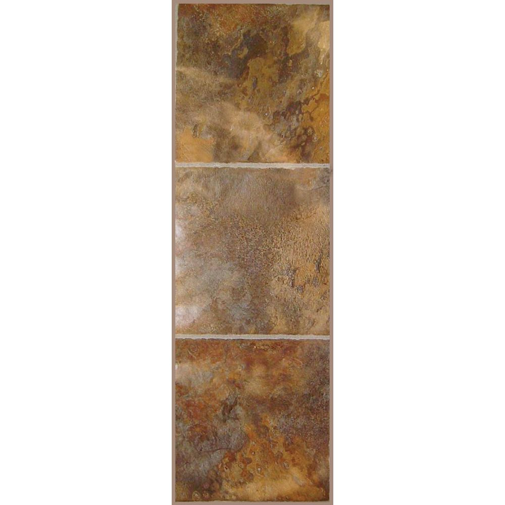 12-inch x 36-inch Luxury Vinyl Tile Flooring in Sierra (24 sq. ft./case)