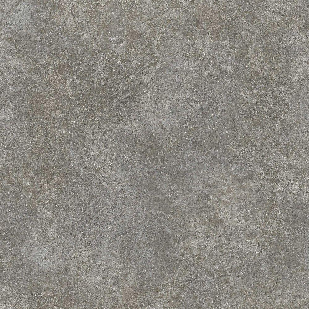 12-inch x 23.82-inch Luxury Vinyl Tile Flooring in Gunmetal (19.8 sq. ft./case)