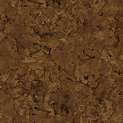 TrafficMASTER Lisbon Cork Dark 6-inch x 36-inch Luxury Vinyl Plank Flooring (24 sq. ft. / case)