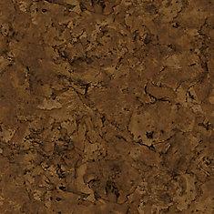 Lisbon Cork Dark 6-inch x 36-inch Luxury Vinyl Plank Flooring (24 sq. ft. / case)