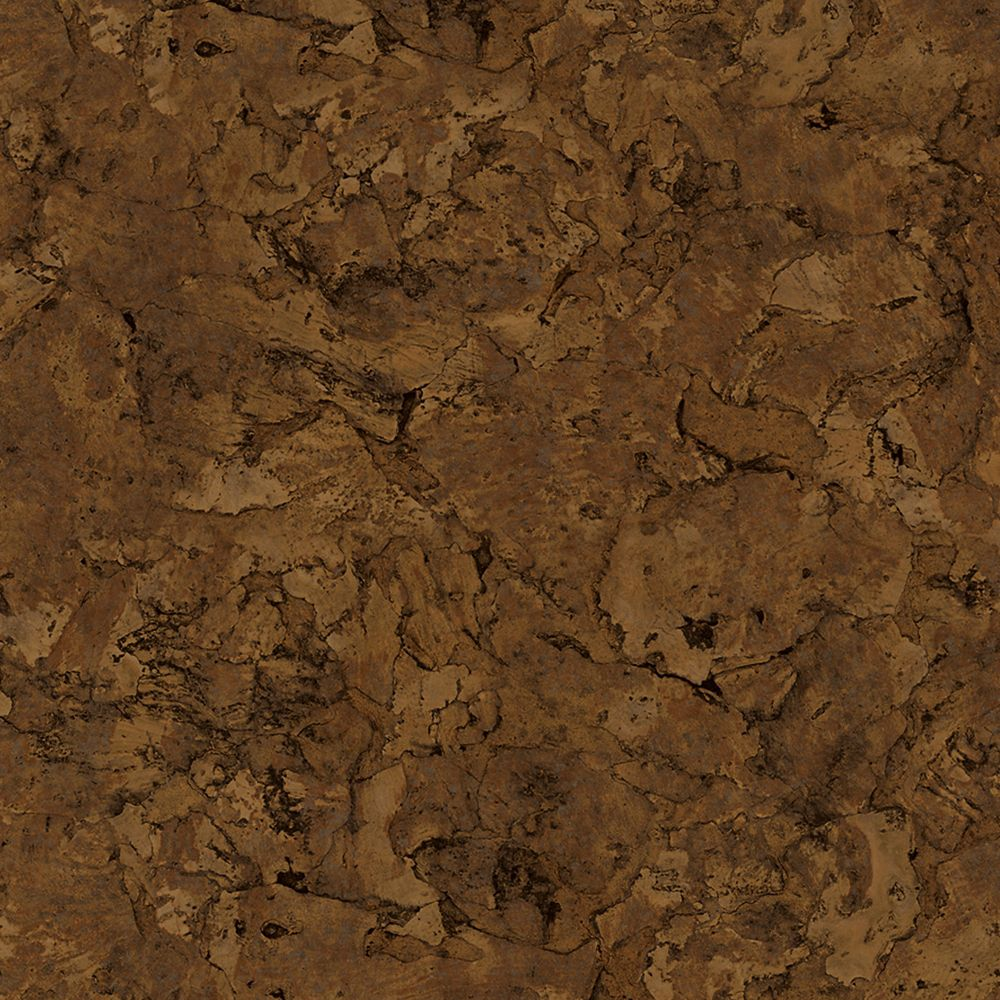 6 Inch. X 36 Inch. Lisbon Cork Dark Luxury Vinyl Plank Flooring (24 Sq. Ft./Case)